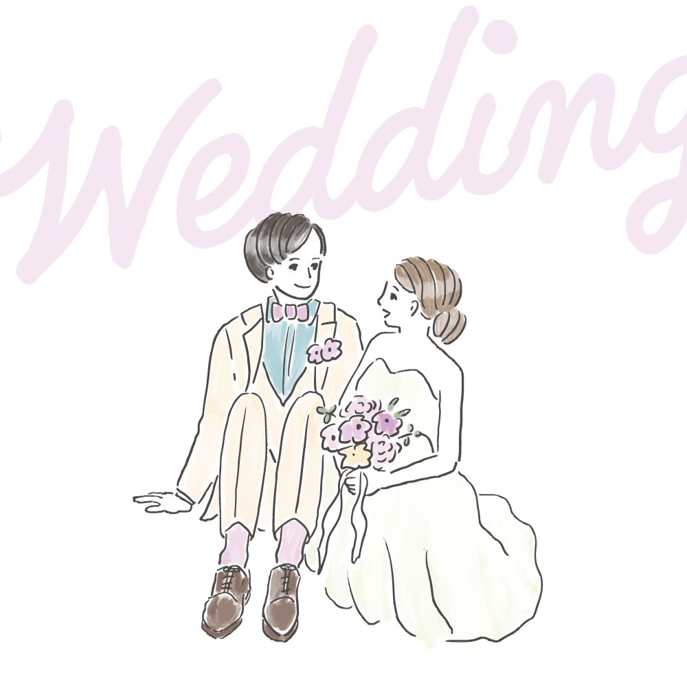 wedding column