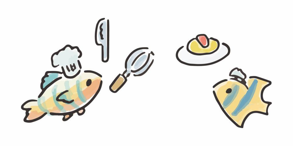 釣りがテーマの挿絵1